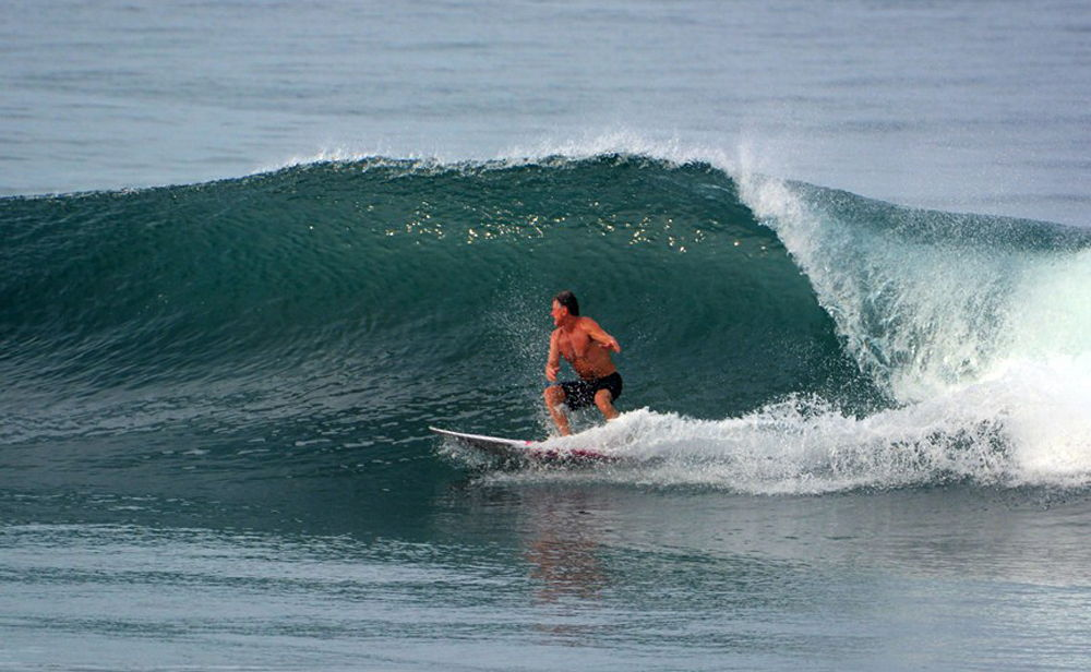 John Foster Surfing