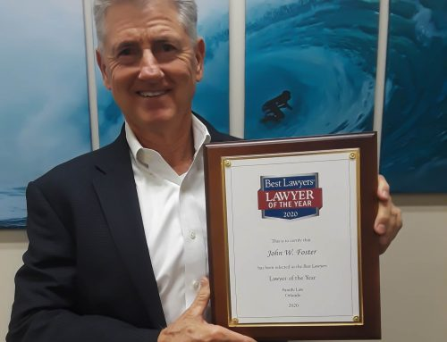 "John Foster Named ""Lawyer of the Year"" by Best Lawyers 2020"