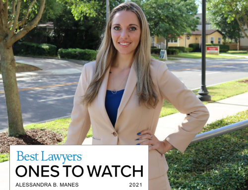 "Best Lawyers ""Ones to Watch"" Recognizes Alessandra Manes"