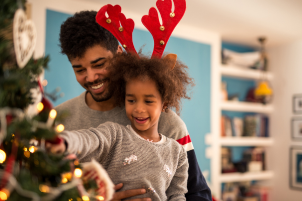 holiday schedule in a parenting plan